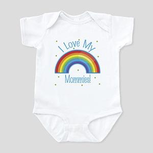 I Love My Mommies Baby Infant Bodysuit