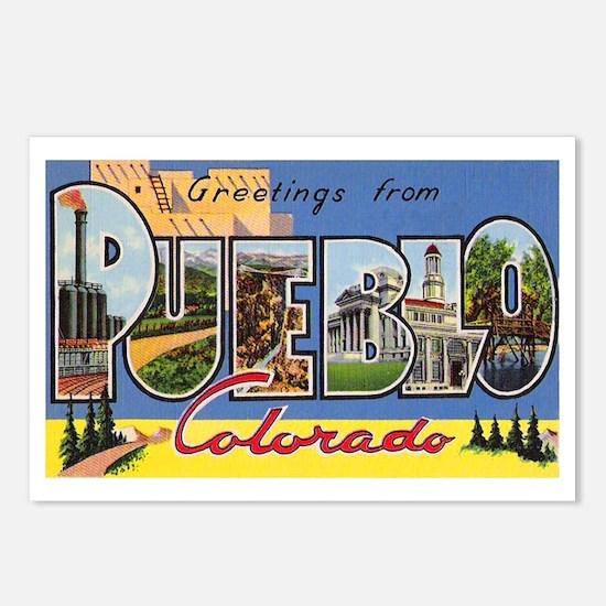 Pueblo Colorado Greetings Postcards (Package of 8)