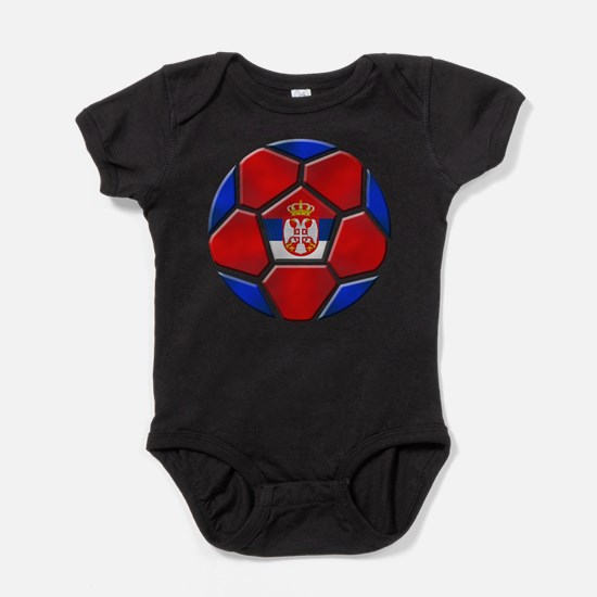 Serbia Soccer Football Body Suit