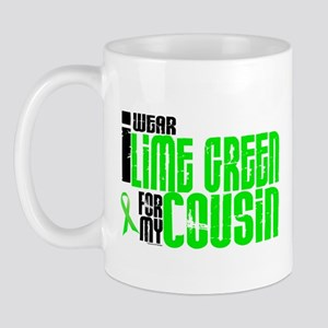 I Wear Lime Green For My Cousin 6 Mug