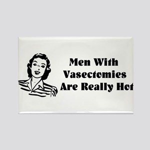Men With Vasectomies Rectangle Magnet