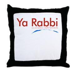 Ya Rabbi Throw Pillow