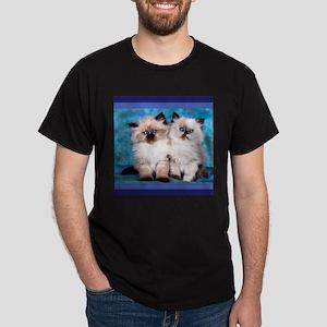 Siamese Kittens Dark T-Shirt