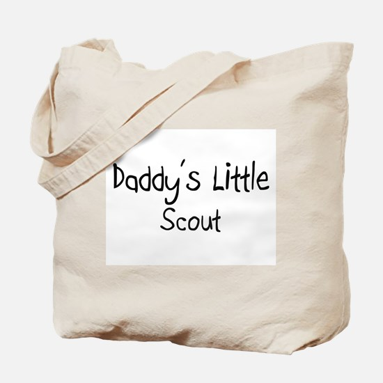 Daddy's Little Scout Tote Bag