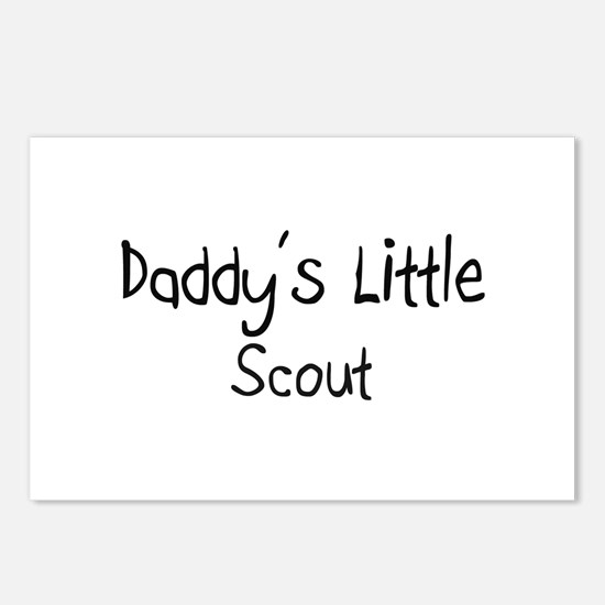 Daddy's Little Scout Postcards (Package of 8)