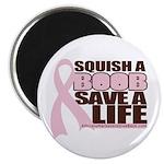 Save a Life Pink Ribbon Magnet