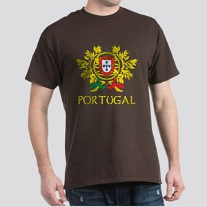 Portugal Coat of Arms Dark T-Shirt