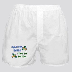 Child-Free Me Boxer Shorts