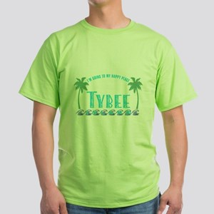 Tybee Happy Place - Women's Dark T-Shirt