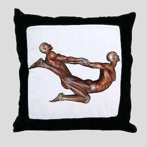 Thai Massage Throw Pillow