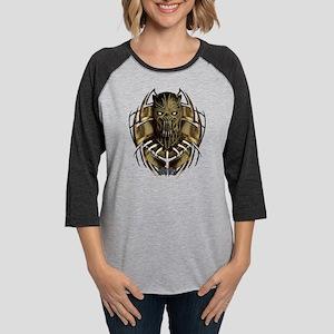Black Panther Killmonger Womens Baseball Tee