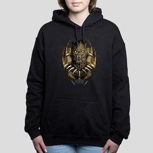 Black Panther Killmonger Women's Hooded Sweatshirt