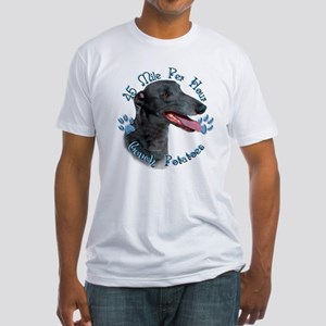 Black Couch Fitted T-Shirt