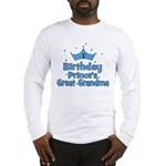 1st Birthday Prince's Great G Long Sleeve T-Shirt