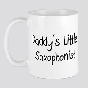 Daddy's Little Saxophonist Mug