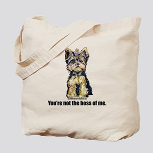 Yorkshire Terrier - Yorkie Bo Tote Bag