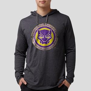 Black Panther Wakanda Panthers Mens Hooded Shirt