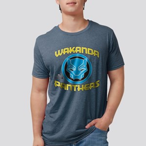 Black Panther Wakanda Panth Mens Tri-blend T-Shirt