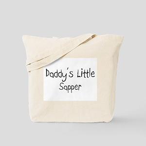 Daddy's Little Sapper Tote Bag