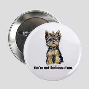 "Yorkshire Terrier - Yorkie Bo 2.25"" Button"