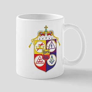York Rite Crest Masons Mug