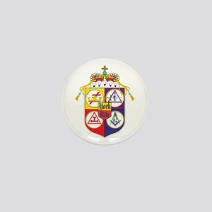 York Rite Crest Mini Button