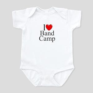 """I Love (Heart) Band Camp"" Infant Bodysuit"