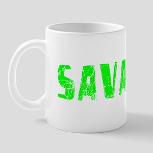 Savannah Faded (Green) Mug