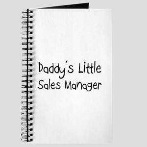 Daddy's Little Sales Manager Journal