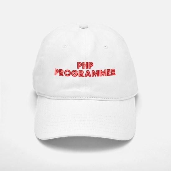 Retro PHP Program.. (Red) Baseball Baseball Cap