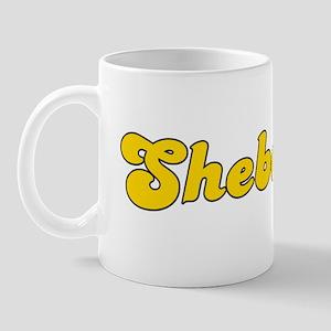 Retro Sheboygan (Gold) Mug