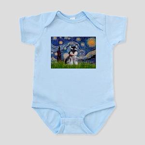 Starry / Schnauzer Infant Bodysuit