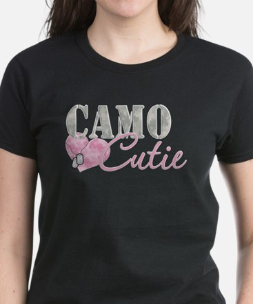 Camo Cutie Women's Dark T-Shirt