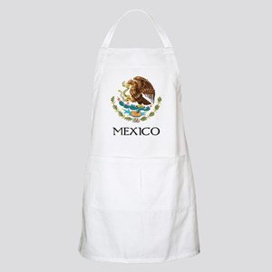 Mexico Coat of Arms BBQ Apron