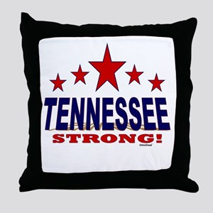 Tennessee Strong! Throw Pillow