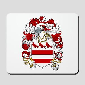 Denton Family Crest Mousepad