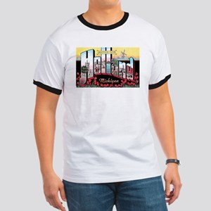 Holland Michigan Greetings (Front) Ringer T