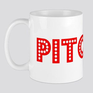 Retro Pitcher (Red) Mug