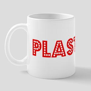 Retro Plasterer (Red) Mug