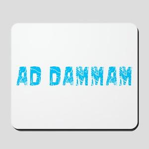Ad-Dammam Faded (Blue) Mousepad