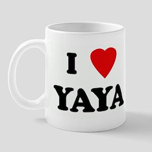 I Love YAYA Mug
