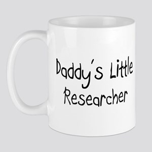 Daddy's Little Researcher Mug