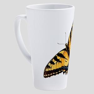 Tiger Swallowtail Butterfly 17 oz Latte Mug