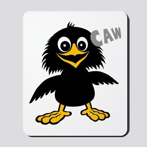 Funny Crow Mousepad