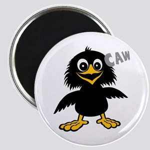 Funny Crow Magnet