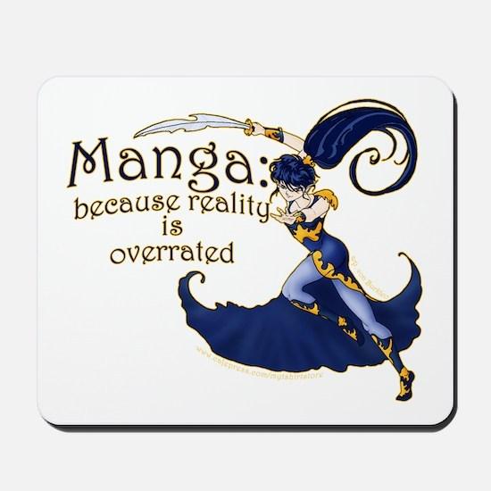 Fun Manga Fan Design Mousepad