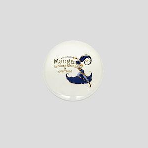 Fun Manga Fan Design Mini Button