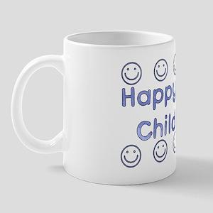Happy To Be Child-Free Mug