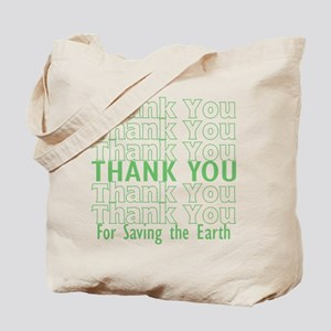 Thank You/Go Green Tote Bag