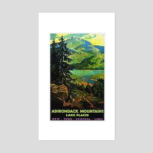 Adirondack Mountains Lake Placid N.Y. Sticker